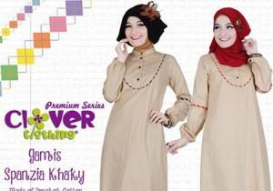 busana muslim clover clothing